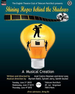 """Shining Hopes behind the Shadows"", création musicale présentée en juin 2015"