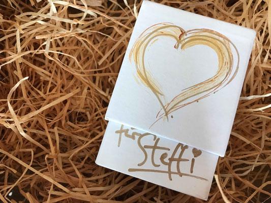 Ich bin dein Herz-Karten-Set, individuell gestaltete Umverpackung @ Susanne Barth