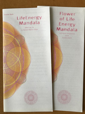 Lebendiges Mandala- als sie noch LIFE ENERGY MANDALA hießen © 2002 Susanne Barth