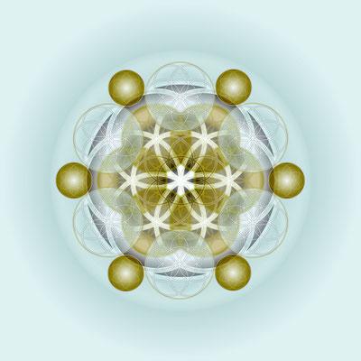 Lebendiges Mandala © Susanne Barth