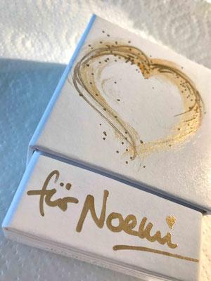 Ich bin dein Herz - persönlich gestaltete Box mit deinem Namen © Susanne Barth
