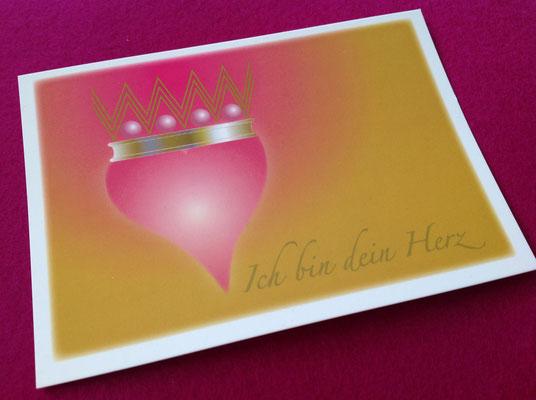 Ich Bin Dein Herz -Motiv-Postkarte © Susanne Barth