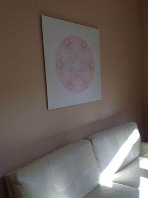 Lebendiges Mandala aus der SOFT LINE in Geschäftsräumen © Susanne Barth