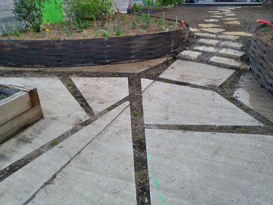 Création des joints verts