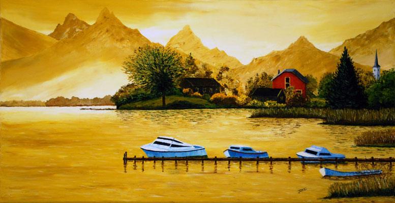 Le Lac d'ANNECY - Copyright Joel GEORGE 2010