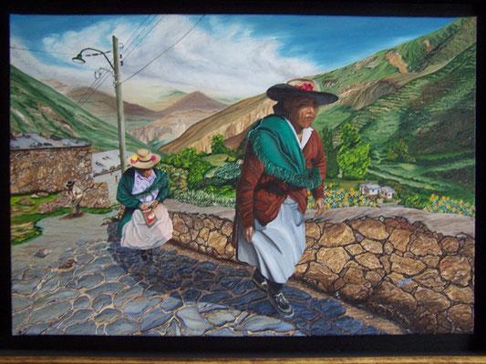 Les paysannes - Copyright Joel GEORGE 2011