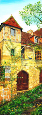 Saint CIRQ - LAPOPIE- Copyright Joel GEORGE 2010