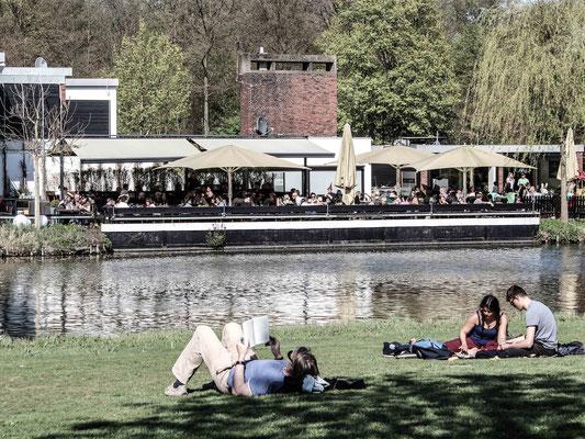 Bürgerpark und Emmas Eiscafe