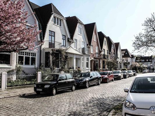 Altbauten im Findorffer Wohnviertel. ©Daniel Zaidan/dezettgrafik