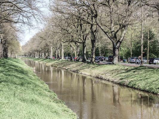 Torfkanal am Bürgerpark. ©Daniel Zaidan/dezettgrafik