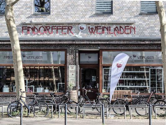 Findorffer Weinladen. ©Daniel Zaidan/dezettgrafik