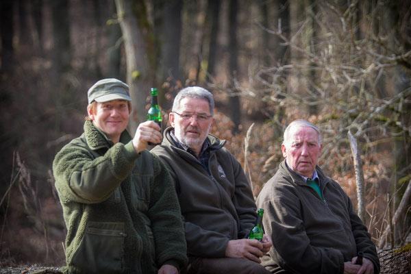 Richterteam: Mario Müller, Thomas Müller und Werner Schmidt