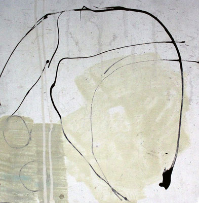 """Formstudie"", 2018, 30 x 30 cm, Acryl auf Pappe/Casani"