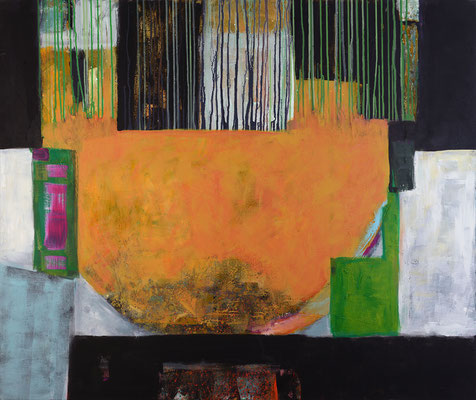 """Memory"", 2018, 100 x 120 cm, Acryl auf Leinwand"