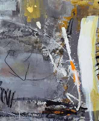 """Feuerwerk"", 2016, 120 x 100 cm, Acryl auf Leinwand"