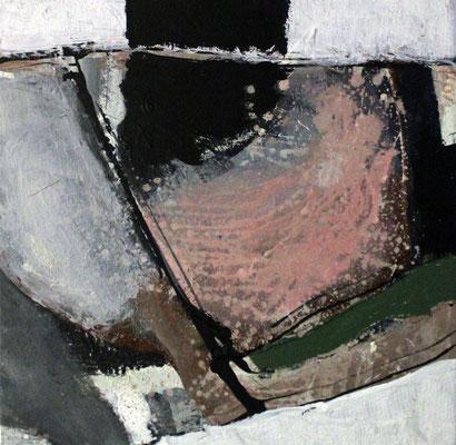 """Formstudie"", 2018, 40 x 40 cm, Acryl auf Leinwand"