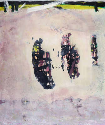 """Luftspiegel"", 2019, 120 x 100 cm, Acryl auf Leinwand"