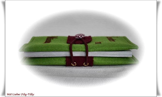 Buchhülle Wanderbuch