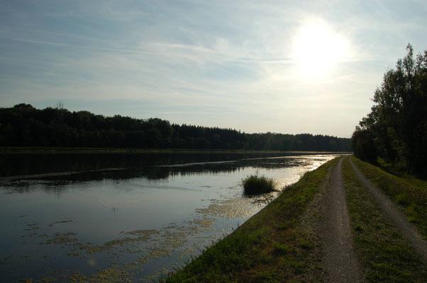 Unsere Heimat, kein Flutpolder Leipheim. (Bild: Manfred Enderle)