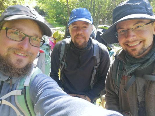 Von Winterberg bis nach Hannover zusammen mit Jan und Frank