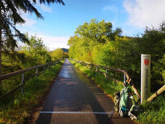 Der 50. Breitengrad bei Wittlich
