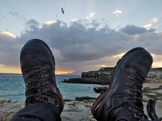 Punta de Tarifa - südlichster Festlandspunkt Europas - mit Blick auf Afrika