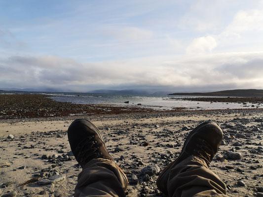 Am Strand der Barentssee