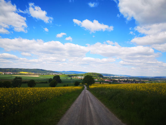 Blick ins Wesertal bei Hameln