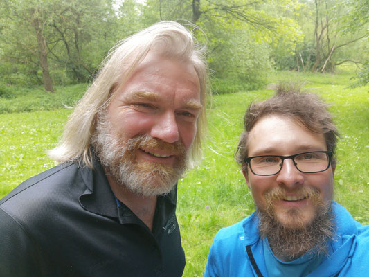 Auf dem Alsterwanderweg mit Thorsten vom Wandermagazin