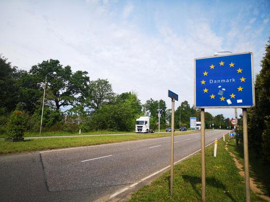 Grenzübergang bei Padborg