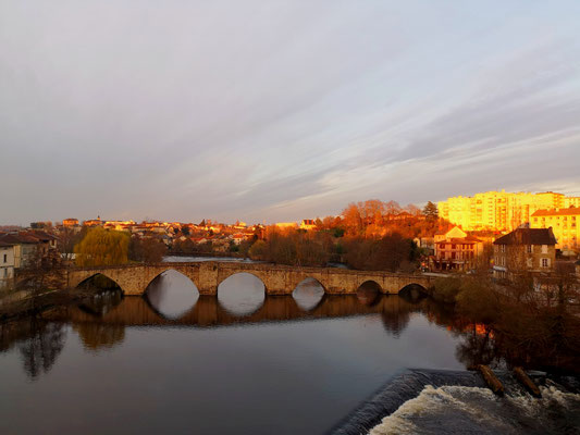 Alte Römerbrücke in Limoges