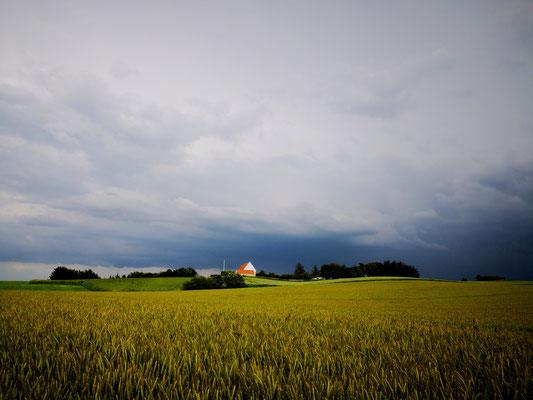 Sommergewitter im Norden Dänemarks