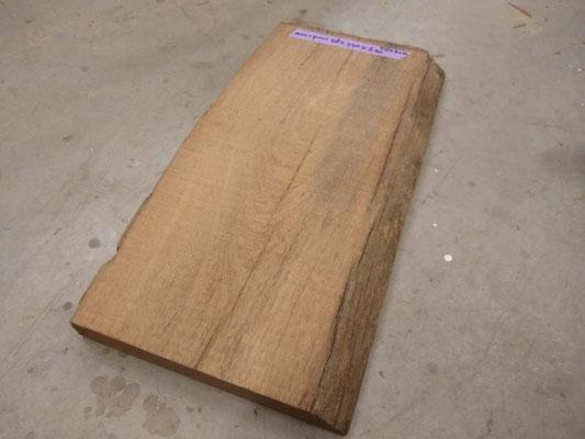 ----VERKOCHT---basralocus meerplaal deel  / fijnbezaagd / 48x+-330x620 mm  prijs 40,00