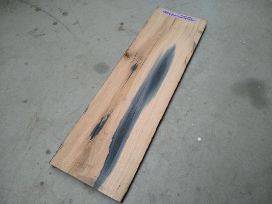 -- VERKOCHT --spoorbiels plank oud eiken / geschaafd / 20x240x800 mm  prijs 28,00