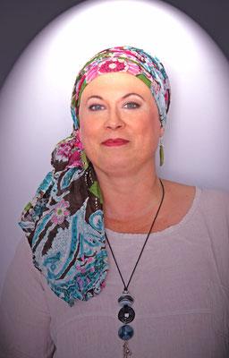 En Aparté Berlioz Angers foulard chèche turban bonnet lutte contre le cancer