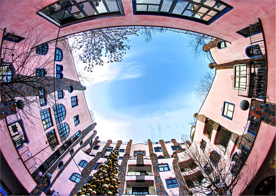Hundertwasser-Gebäude, Magdeburg