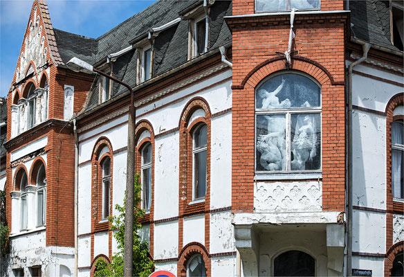marode Villa der Bäderarchitektur in Ahlbeck auf Usedom