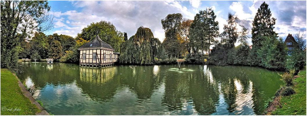 Lustschlösschen im Stadtgarten, Stadthagen