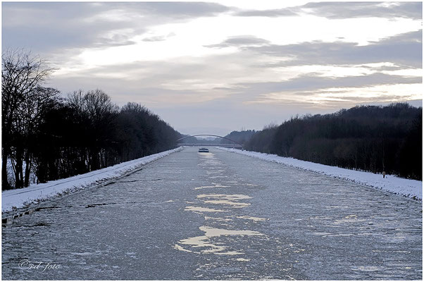 Mittellandkanal Schaumburger Wald