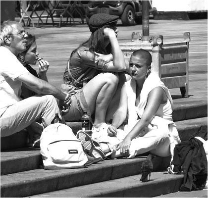 Street life in Rotterdam