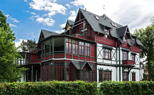 Kaiserliche Bäderarchitektur auf Usedom