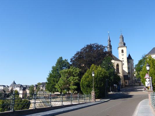 Eglise Saint-Michel à Luxembourg.