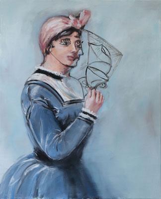 Une envie de Picasso - huile sur toile - 100 x 81 cm - 2019