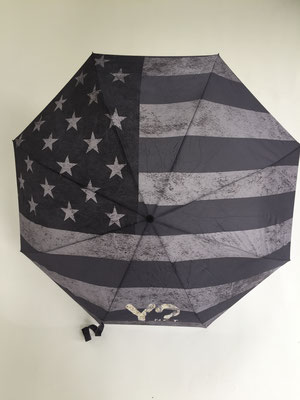 Flag USA blackgrey