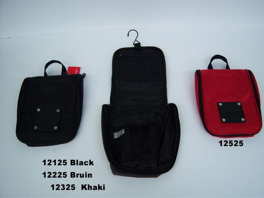 12125 zwart - 12225 bruin - 12525 rood