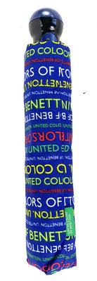 55652 Benetton mini automatisch print Jeisa blauw