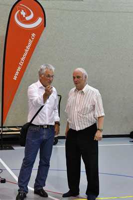 Pierre-Alain Girardin et Michel Favre Tchoukball