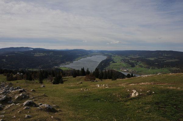 Lac de Joux depuis la Dent de Vaulion