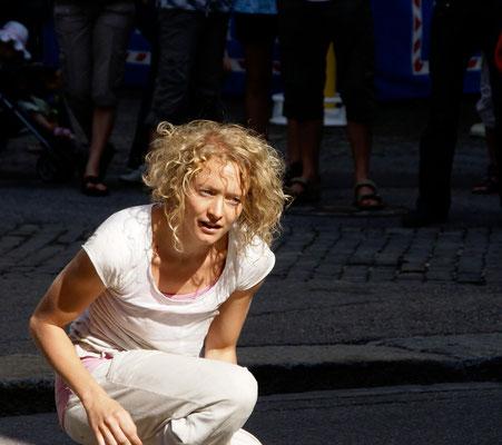 Comédienne, La Plage La Chaux-de-Fonds, 2010