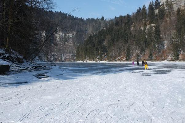 Sur le Doubs, Lac des Brenets